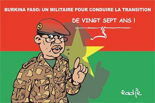 Burkina Faso: Un militaire pour conduire la transition - Ghir Hak - Les Débats - Gagdz.com