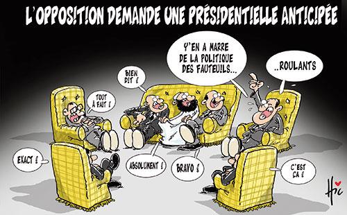 L'opposition demande une présidentielle anticipée - Le Hic - El Watan - Gagdz.com