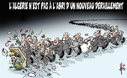 L'Algérie n'est pas à l'abri d'un nouveau déraillement - Le Hic - El Watan - Gagdz.com