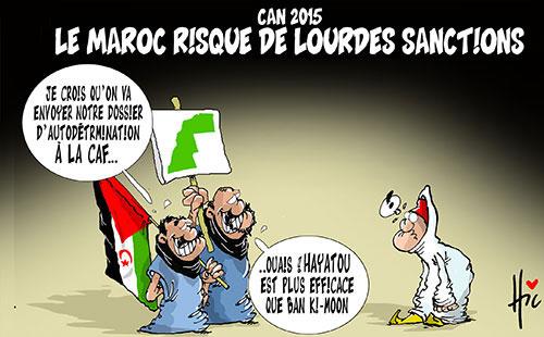 Can 2015: Le Maroc risque de lourdes sanctions - Le Hic - El Watan - Gagdz.com