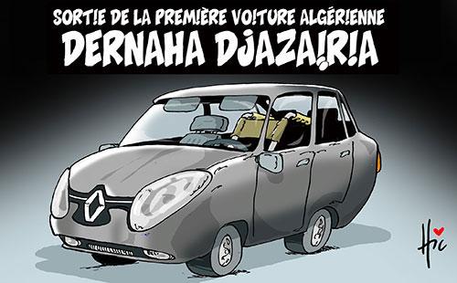 Sortie de la première voiture algérienne: Dernaha djazairia - Le Hic - El Watan - Gagdz.com