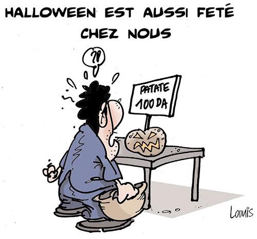 Halloween est aussi feté chez nous - Lounis Le jour d'Algérie - Gagdz.com