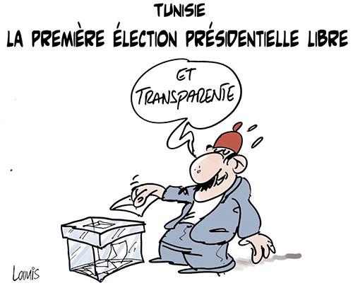 Tunisie: La première élection présidentielle libre - Lounis Le jour d'Algérie - Gagdz.com