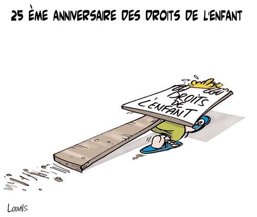 25ème anniversaire des droits de l'enfant - Lounis Le jour d'Algérie - Gagdz.com