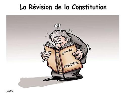 Le révision de la constitution