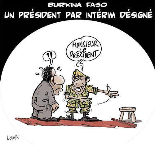Burkina Faso: Un président par intérim désigné