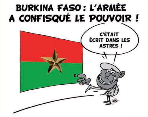 Burkina Faso: L'armée a confisqué le pouvoir
