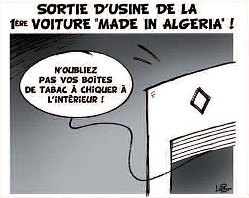 """Sortie d'usine de la 1ère voiture """"made in Algeria"""" - Vitamine - Le Soir d'Algérie - Gagdz.com"""