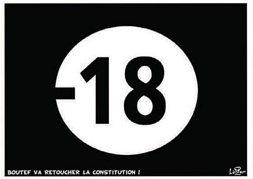 Boutef va retoucher la constitution
