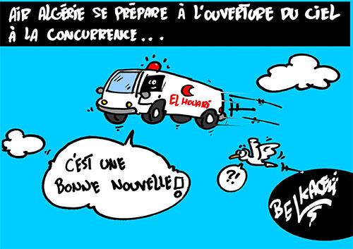 Air Algérie se prépare à l'ouverture du ciel à la concurence - Belkacem - Le Courrier d'Algérie - Gagdz.com