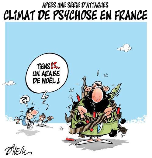 Après une série d'attaques: Climat de psychose en France