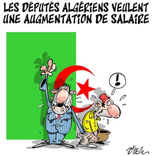 Les députés algériens veulent une augmentation de salaire