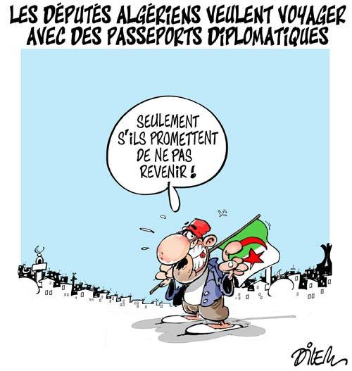 Les députés algériens veulent voyager avec des passeports diplomatiques