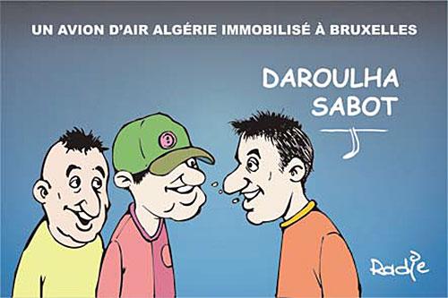 Un avion d'Air Algérie immobilisé à Bruxelles - Ghir Hak - Les Débats - Gagdz.com