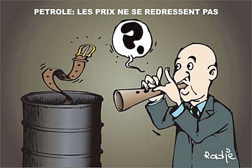 Petrole: Les prix ne se redressent pas