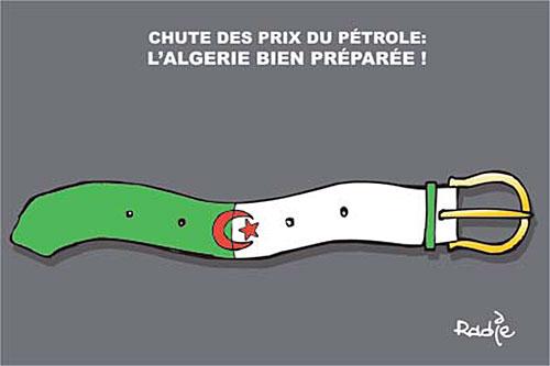 Chute des prix du pétrole: L'Algérie bien préparée