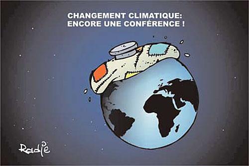 Changement climatique: Encore une conférence - Ghir Hak - Les Débats - Gagdz.com