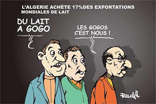 L'Algérie achète 17% des exportations mondiales de lait - Ghir Hak - Les Débats - Gagdz.com