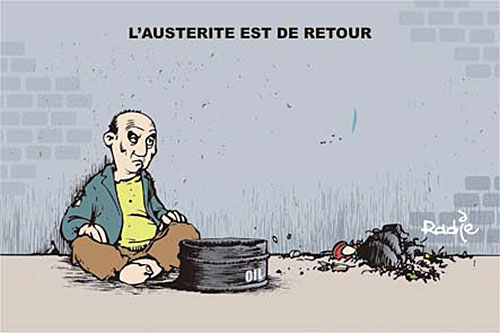 L'austérité est de retour - Ghir Hak - Les Débats - Gagdz.com