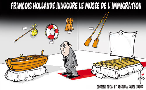 François Hollande inaugure le musée de l'immigration - Le Hic - El Watan - Gagdz.com