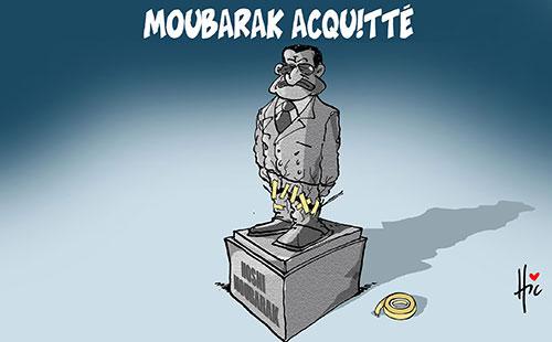 Moubarak acquitté - Le Hic - El Watan - Gagdz.com