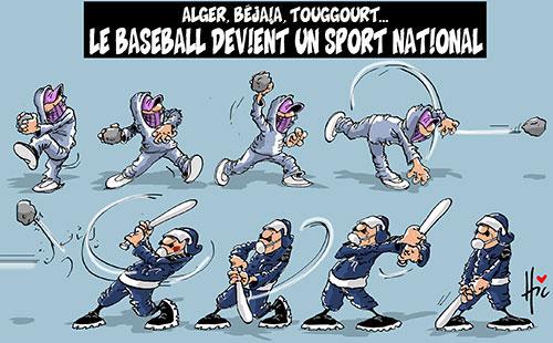 Alger, Béjaia, Touggourt: Le baseball devient un sport national - Le Hic - El Watan - Gagdz.com