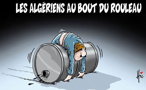 Les Algériens au bout du rouleau