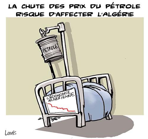 La chute des prix du pétrole risque d'affecter l'Algérie