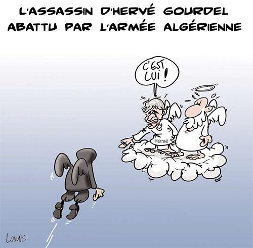 L'assassin d'Hervé Gourdel abattu par l'armée algérienne - Lounis Le jour d'Algérie - Gagdz.com