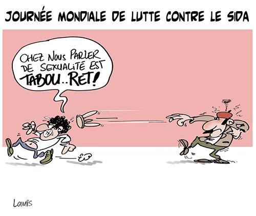 Journée mondiale de lutte contre le sida - Lounis Le jour d'Algérie - Gagdz.com