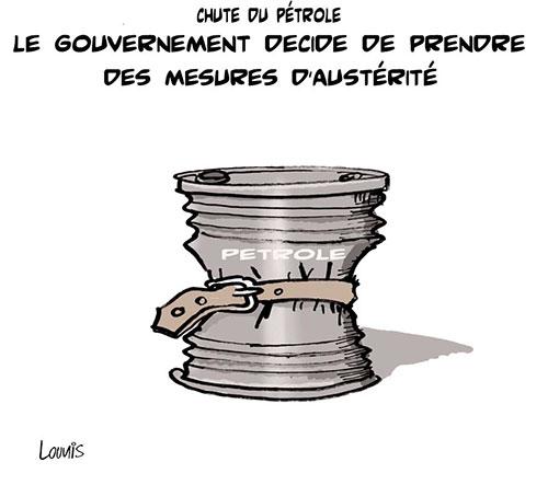 Chute du pétrole: Le gouvernement décide de prendre des mesures d'austérité