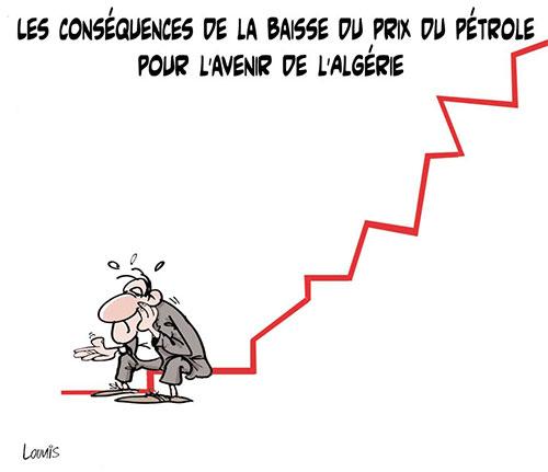 Les conséquences de la baisse du prix du pétrole pour l'avenir de l'Algérie - Lounis Le jour d'Algérie - Gagdz.com