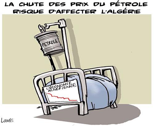 La chute des prix du pétrole risque d'affecter l'Algérie - Lounis Le jour d'Algérie - Gagdz.com