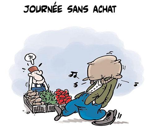 Journée sans achat - Lounis Le jour d'Algérie - Gagdz.com