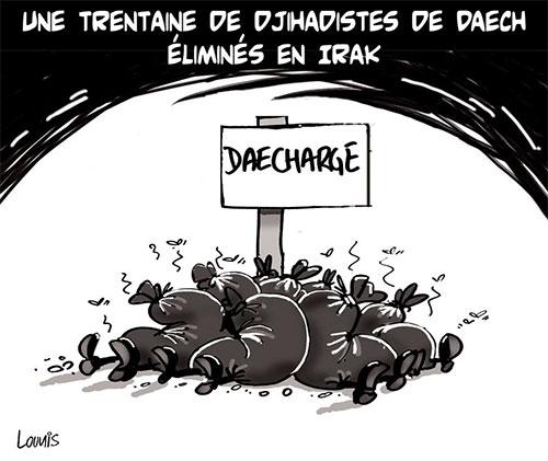 Une trentaine de djihadistes de daech éliminés en Irak - Lounis Le jour d'Algérie - Gagdz.com