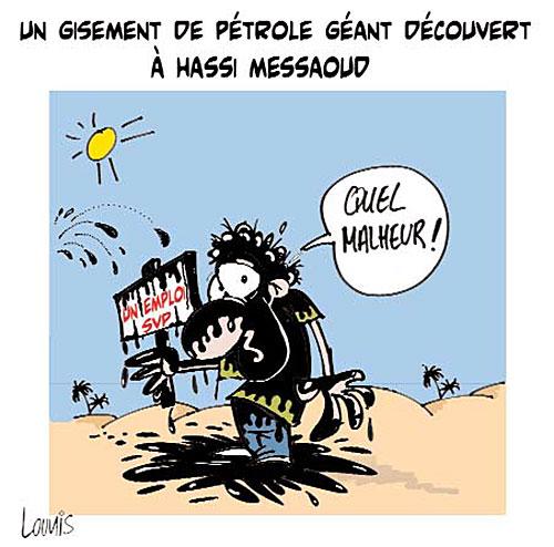 Un gisement de pétrole géant découvert à Hassi Messaoud - Lounis Le jour d'Algérie - Gagdz.com