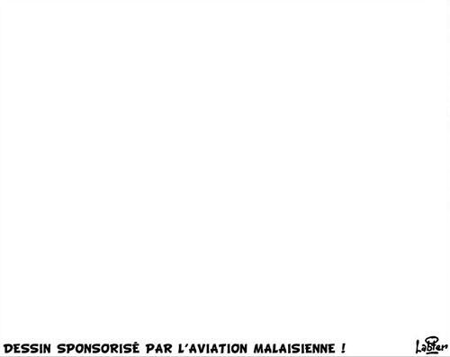 Déssin sponsorisé par l'aviation malaisienne - Vitamine - Le Soir d'Algérie - Gagdz.com