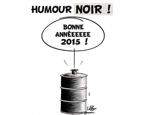 Humour noir: Bonne année 2015 - Vitamine - Le Soir d'Algérie - Gagdz.com