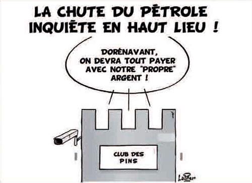 La chute du pétrole inquiéte en haut lieu - Vitamine - Le Soir d'Algérie - Gagdz.com