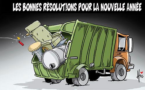 Les bonnes résolution pour la nouvelle année - Le Hic - El Watan - Gagdz.com
