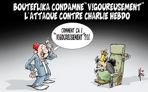 "Bouteflika condamne ""vigouresement"" l'attaque contre Charlie hebdo - Le Hic - El Watan - Gagdz.com"