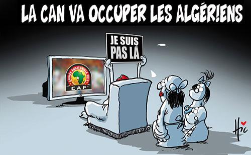 La CAN va occuper les algériens - Le Hic - El Watan - Gagdz.com