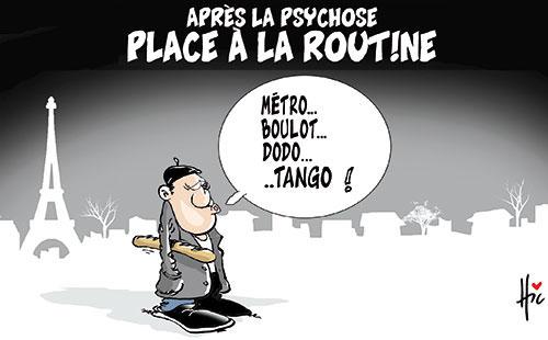 Après la psychose: Place à la routine - Le Hic - El Watan - Gagdz.com