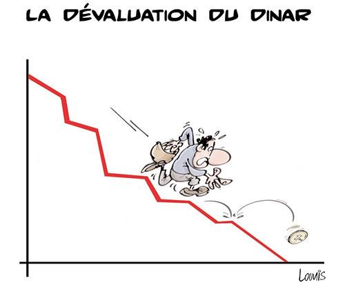 La dévaluation du dinar - Lounis Le jour d'Algérie - Gagdz.com