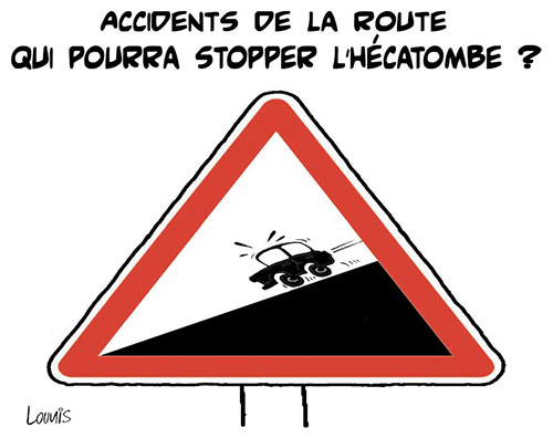 Accidents de la route: Qui pourra stopper l'hécatombe ? - Lounis Le jour d'Algérie - Gagdz.com