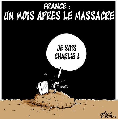 France: Un mois après le massacre