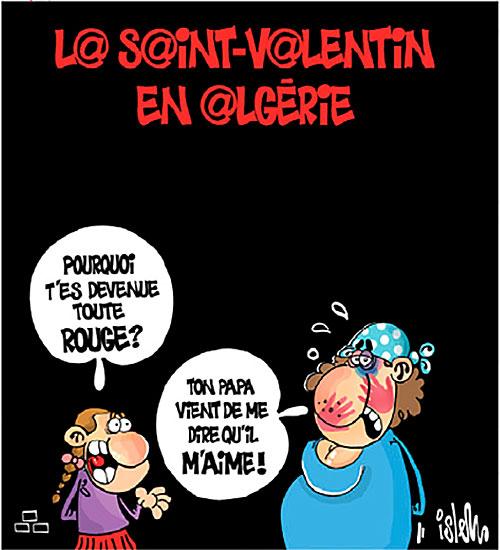 La saint-Valentin en Algérie