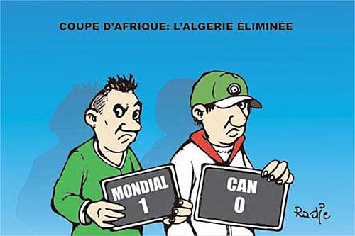 Coupe d'Afrique: L'Algérie éliminée - Ghir Hak - Les Débats - Gagdz.com