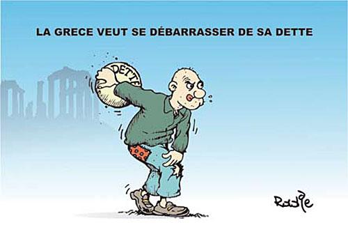 La Grece veut se débarasser de sa dette - Ghir Hak - Les Débats - Gagdz.com