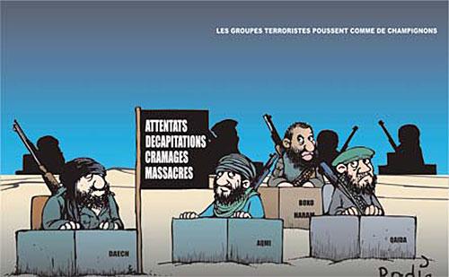 Les groupes terroristes poussent comme des champignons - Ghir Hak - Les Débats - Gagdz.com